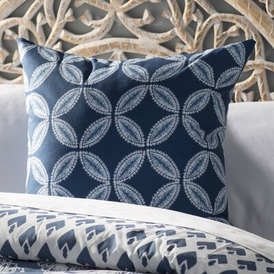 Viet Tidepool Indoor/Outdoor Throw Pillow Size: 20 H x 20 W, Color: Blue
