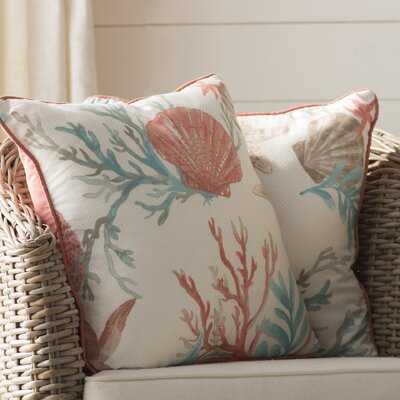 Keyport 100% Cotton Throw Pillow