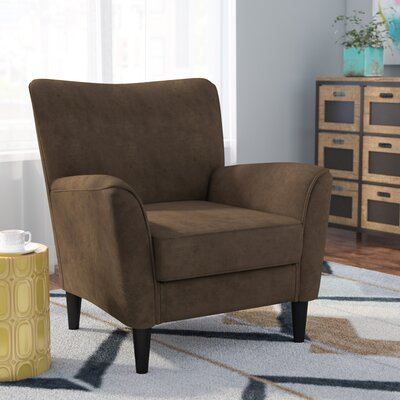 Dory Armchair Upholstery: Dark Brown