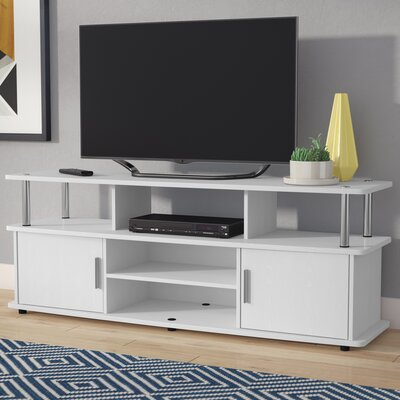 Edwin 59 TV Stand Color: White