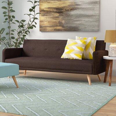 Daphne Sleeper Sofa Upholstery: Brown