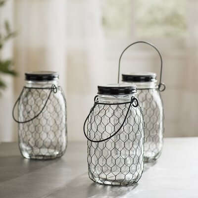 Kiley Decorative Jar Finish: Black Wire LRFY7965 37936004