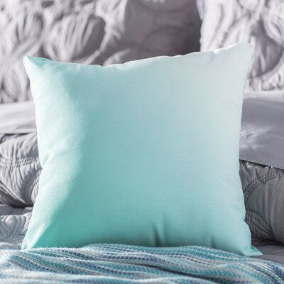 Bonnie Throw Pillow Size: 16 H x 16 W, Color: Jade