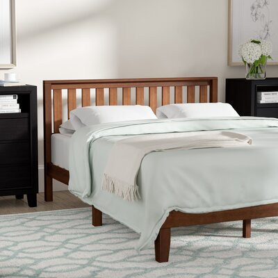 Dalila Solid Wood Platform Bed Size: Queen