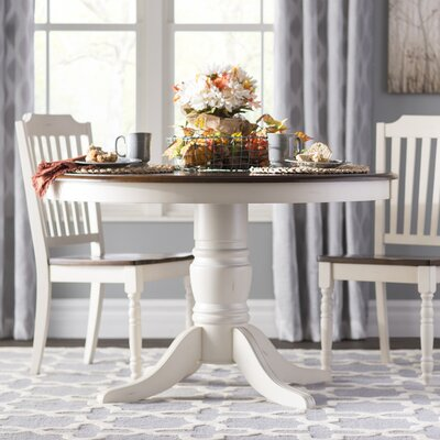 Westlund Dining Table Color: White