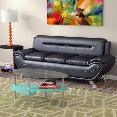 Hawking Sofa Upholstery: Black