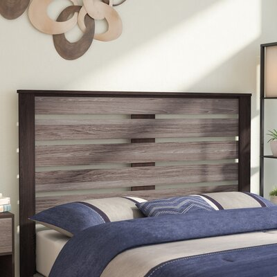 Chicopee Panel Headboard Color: Espresso, Size: Queen