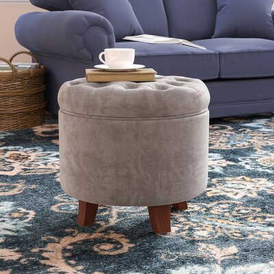 Botello Storage Ottoman Upholstery: Dove Gray