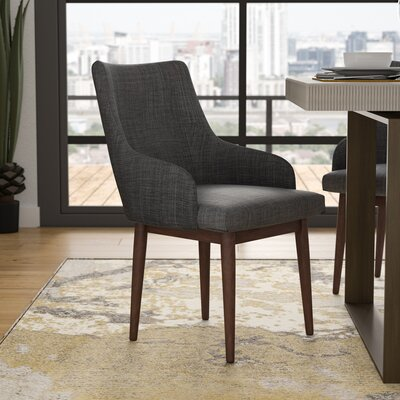 Vinton Arm Chair Upholstery: Charcoal