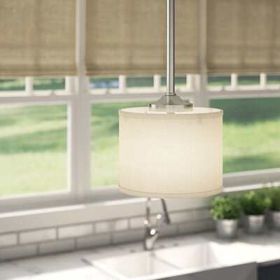 Greenwell 1-Light Pendant Finish: Brushed Nickel