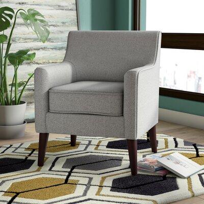 Cicero Street Armchair Upholstery: Ash Gray
