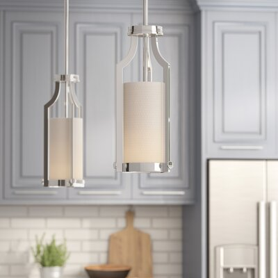 Bullen 1-Light Mini Pendant Finish: Polished Nickel
