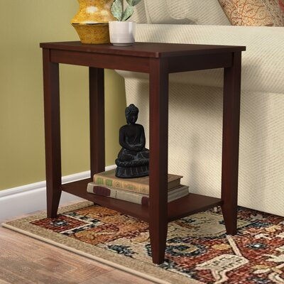Kanoe-Chaoue End Table Color: Oak
