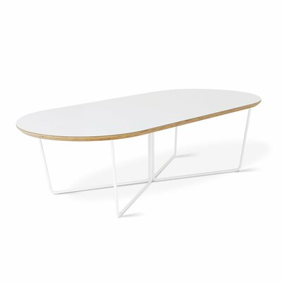 Array Coffee Table Color: White