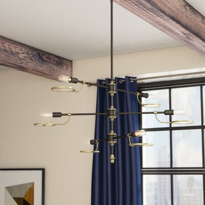 Torrence 6-Light Sputnik Chandelier