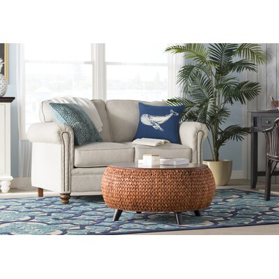 Seaside Navy/Teal Indoor/Outdoor Area Rug Rug Size: Rectangle 710 x 106