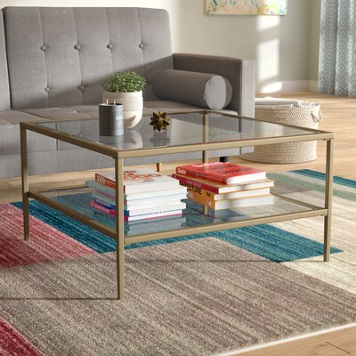 Sydnor Coffee Table Color: Gold