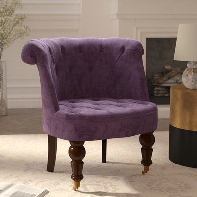 Chancery Slipper Chair Upholstery: Purple