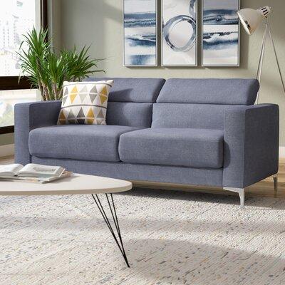 Dennis Modern Sofa Upholstery: Dark Gray