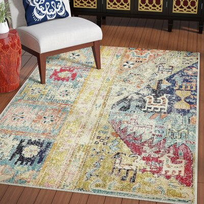 Gloucester Gold Area Rug Rug Size: Rectangle 2 x 3
