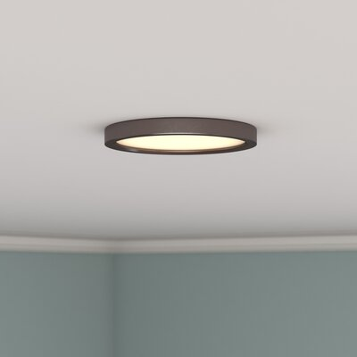 Bria LED Flush Mount Finish: Oil Rubbed Bronze