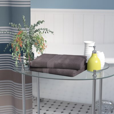 Petrie Bath Sheet Color: Graphite