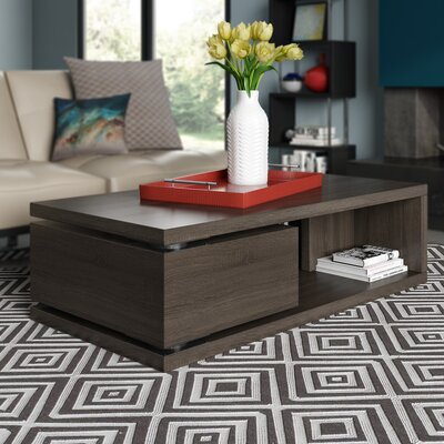 Delwood Coffee Table Color: Pebble Gray