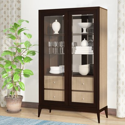 Coletta Lighted China Cabinet