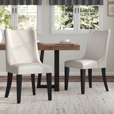 Maryellen Upholstered Barrel Back Side Chair (Set of 2)
