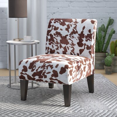Bernardi Slipper Chair Upholstery: Milk Cow