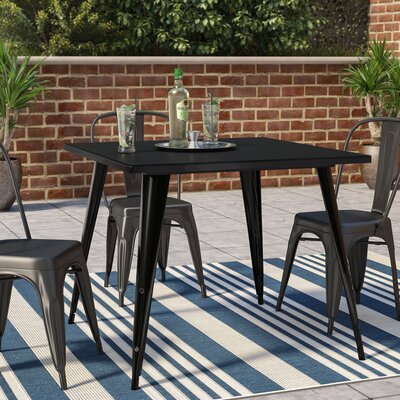 Auld Bistro Table Finish: Black