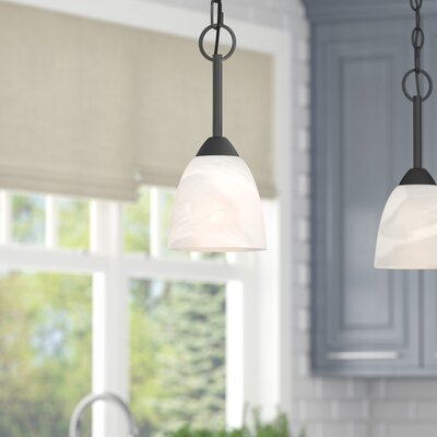Crofoot 1-Light Mini Pendant Finish: Bronze