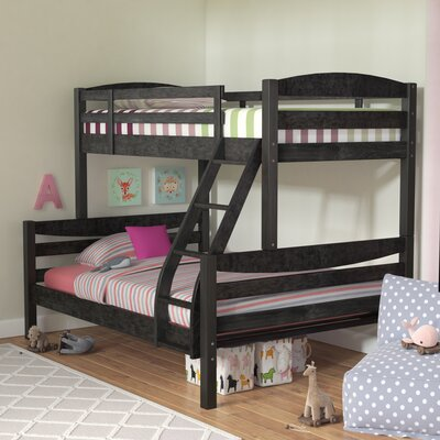 Ralph Twin over Full Bunk Bed Color: Rustic Gray Stain