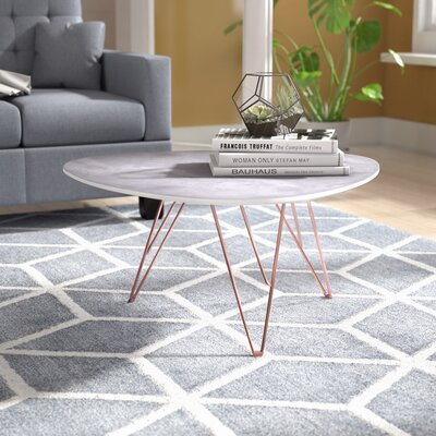 Buckley Coffee Table Size: 15 H x 24 W x 24 D