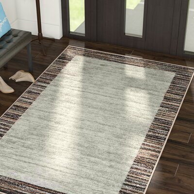 Clair Ivory/Beige Area Rug Rug Size: 5 x 8