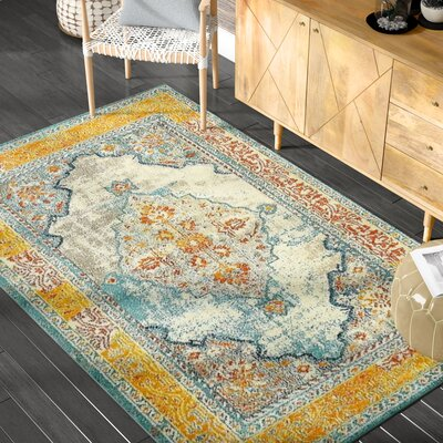Glenn Area Rug Rug Size: Rectangle 4' x 6'