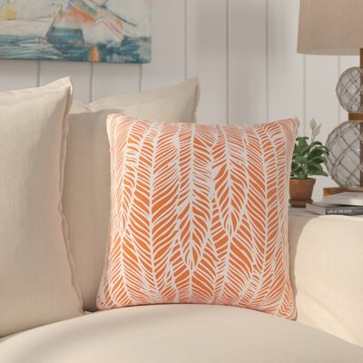Broadmoor Throw Pillow Color: Orange