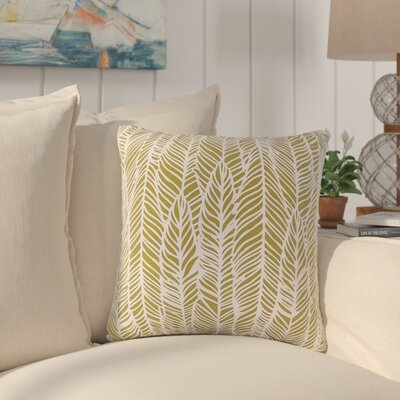 Broadmoor Throw Pillow Color: Lime