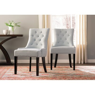 Grandview Side Chair Upholstery Type: Fabric - Light Sky