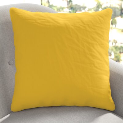 Londyn Outdoor Sunbrella Throw Pillow Color: Sunflower Yellow
