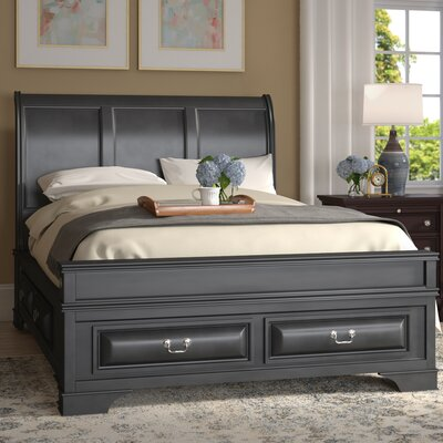 Edwardsville Storage Platform Bed Size: Full, Color: Cappuccino
