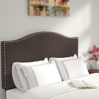 LaCrosse Upholstered Headboard Size: Full/Queen, Upholstery: Brown