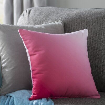 Bonnie Throw Pillow Size: 16 H x 16 W, Color: Red