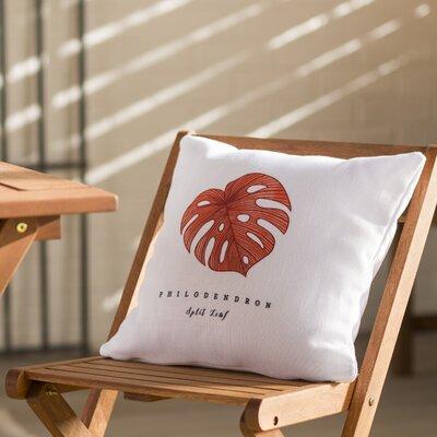 Izidora Leaf Throw Pillow Size: 18 H x 18 W x 6 D