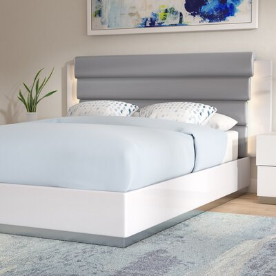 Langridge Upholstered Platform Bed Size: Queen