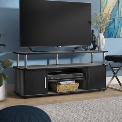 Nova Traditional 47.3 TV Stand Color: Weathered Gray/Black
