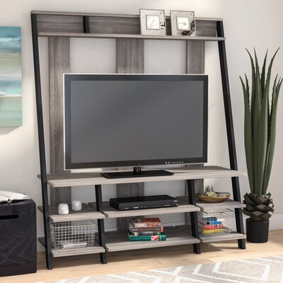 Russel Entertainment Center Color: Distressed Brown