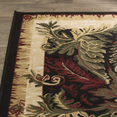 Bertie Area Rug Rug Size: Rectangle 78 x 104