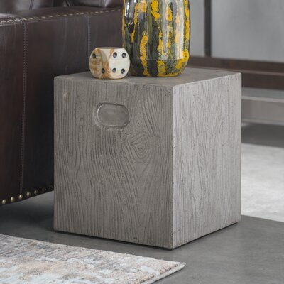 Lonetree End Table Color: Dark Gray