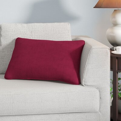 Neilsen Edge Lumbar Pillow Color: Wine